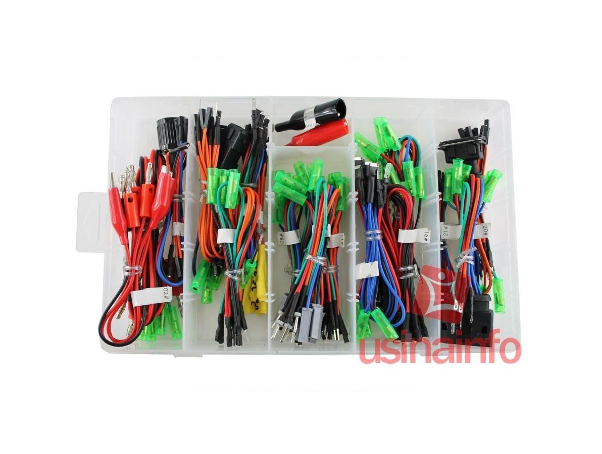 Conjunto de cabos e terminais para teste em sistema eletrônico de automóveis - SKS3068