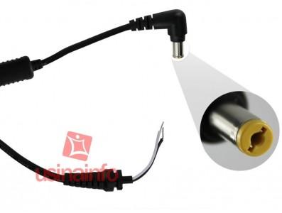 Cabo de reposição para carregador (fonte) de notebook Acer - (5.5 x 1.7mm)