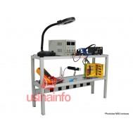 Prateleiras de alumínio para bancadas de trabalho Kaisi - K2402