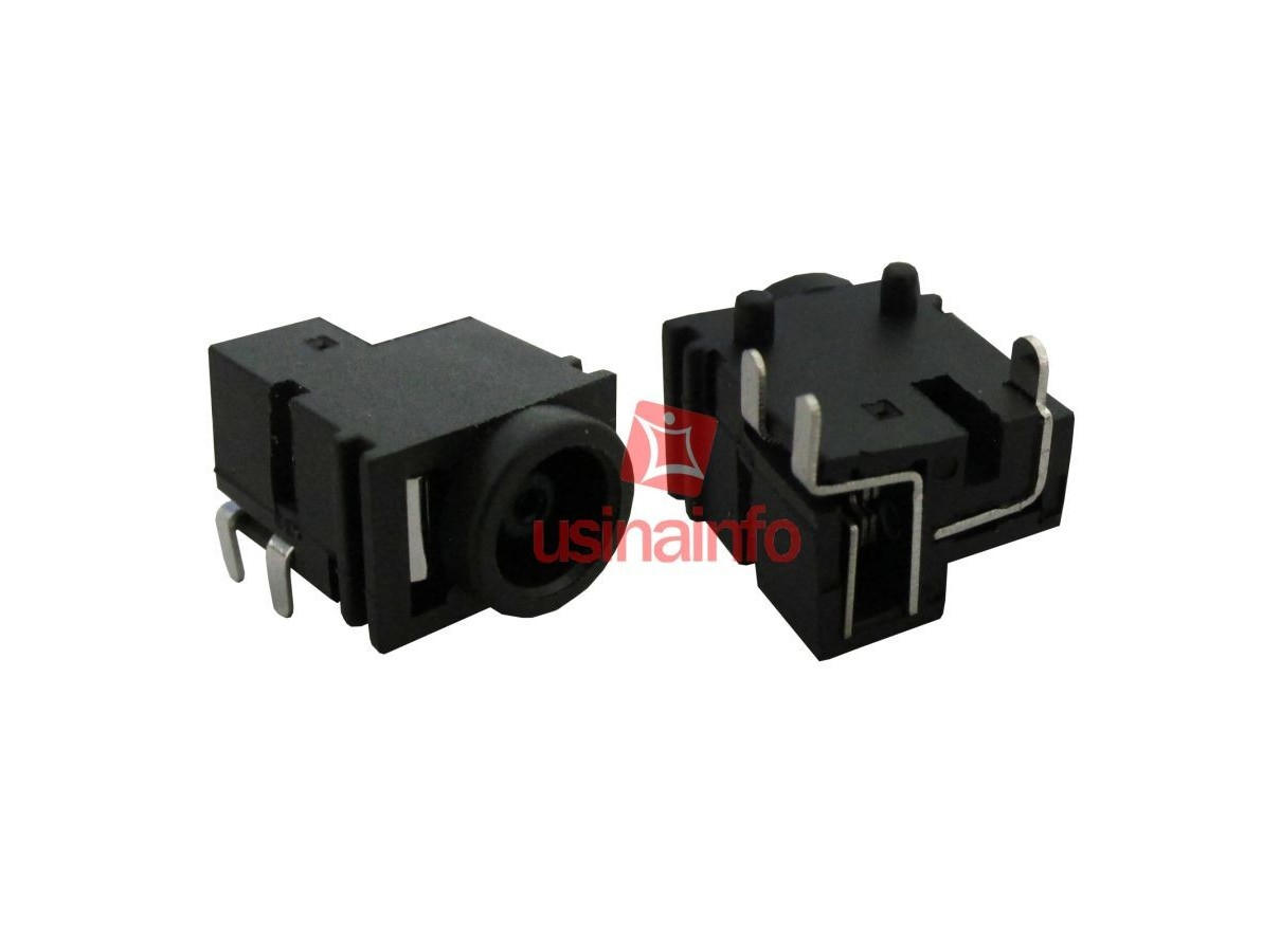 Conector de carga / Jack para Notebook - PJ 22 (Pino 1.2mm)