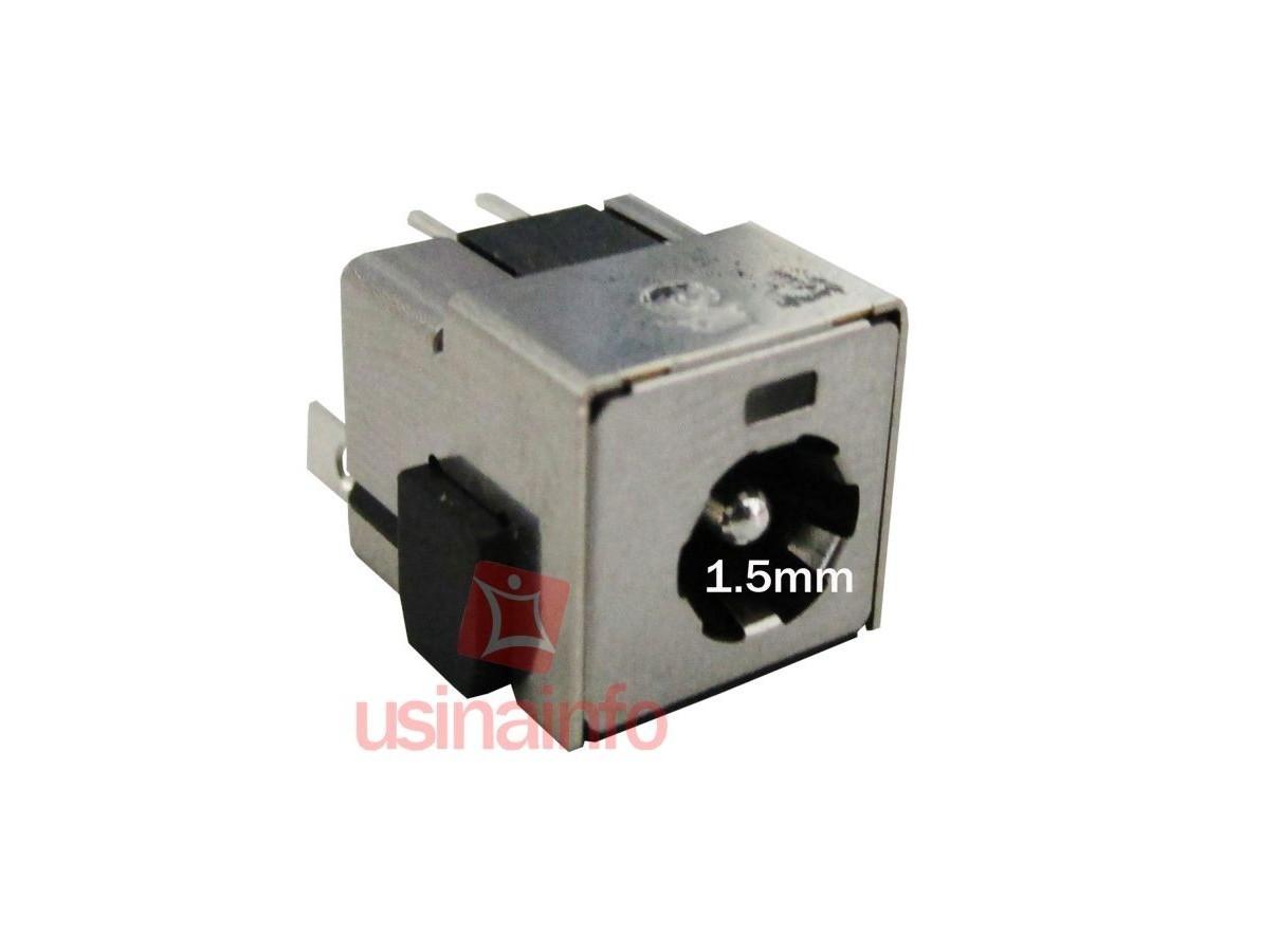Conector de carga / Jack para Notebook - PJ 50 (1.5mm)