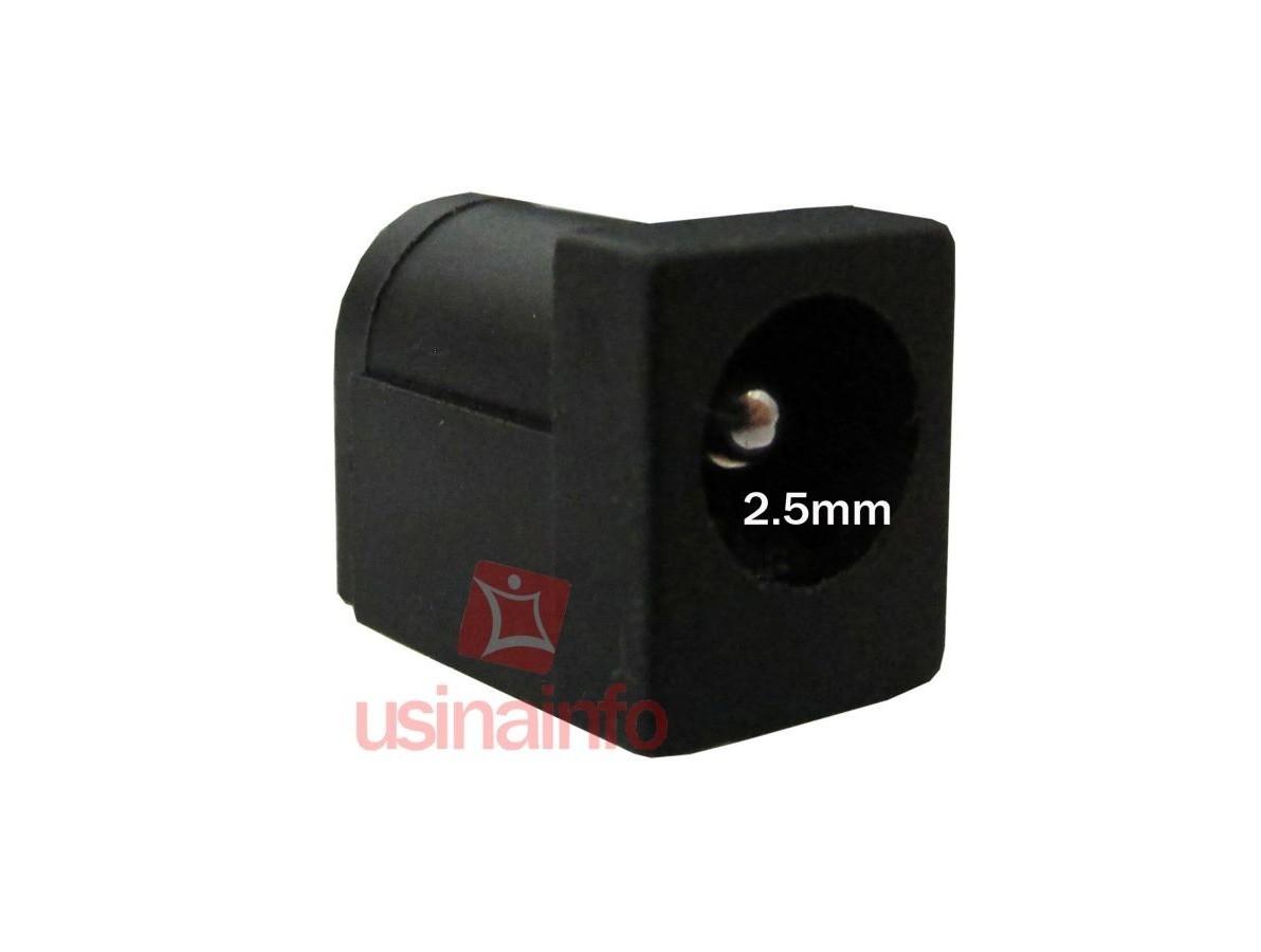 Conector de carga / Jack para Notebook - PJ 02 (2.5mm)