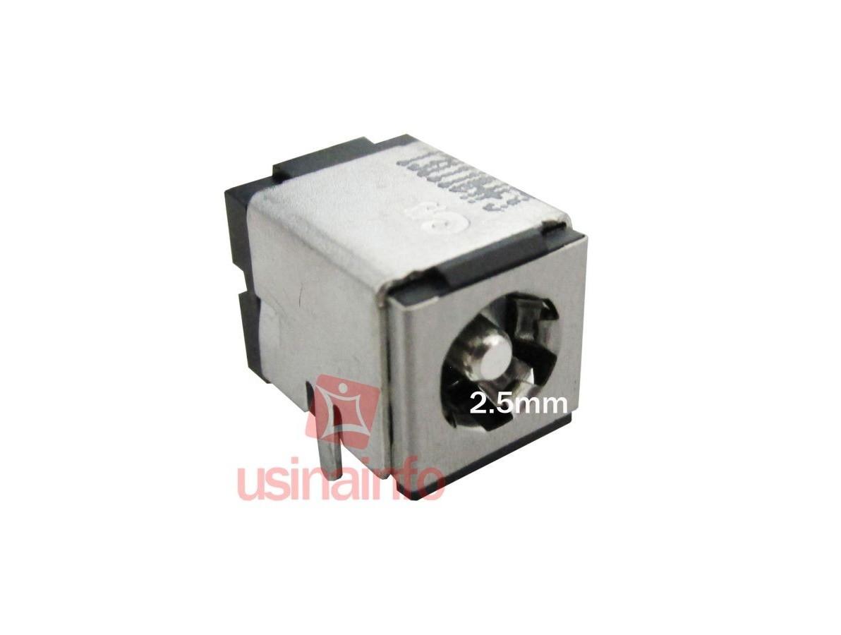 Conector de carga / Jack para Notebook - PJ 15 (2.5mm)