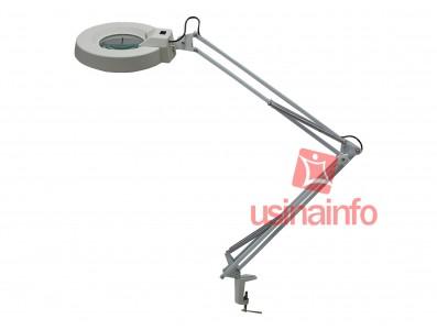 Lupa de Bancada com Iluminação e Aumento de 5X - SKB168