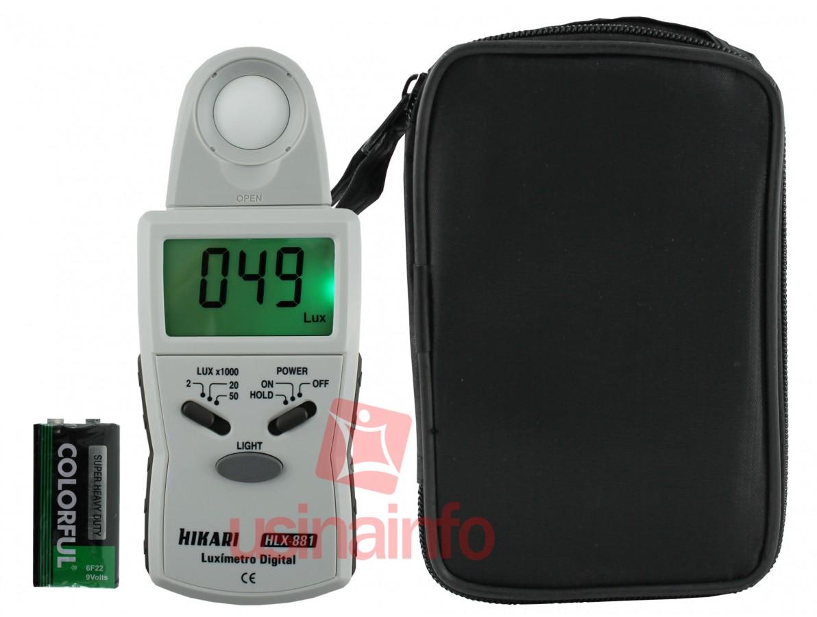 Luxímetro digital Hikari -  HLX-881