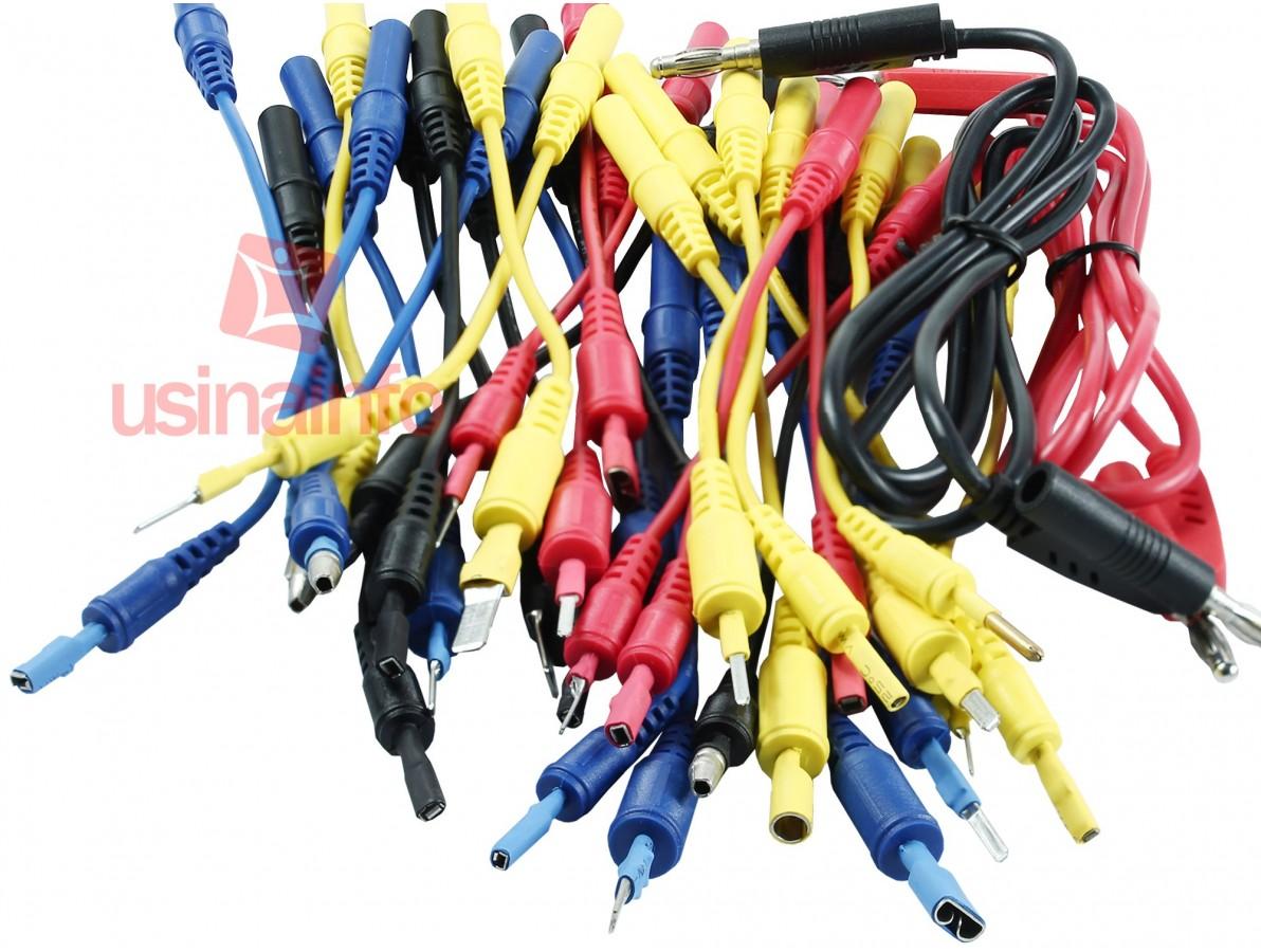 Maleta com cabos para teste em sistema eletrônico de automóveis - ADD101B