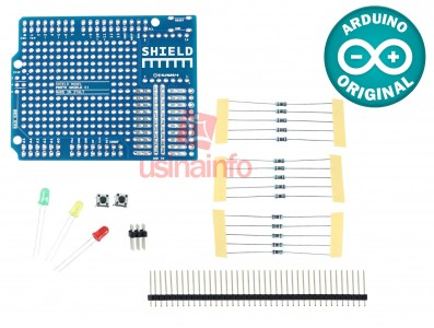 Protoshield / Kit Shield Proto para Arduino