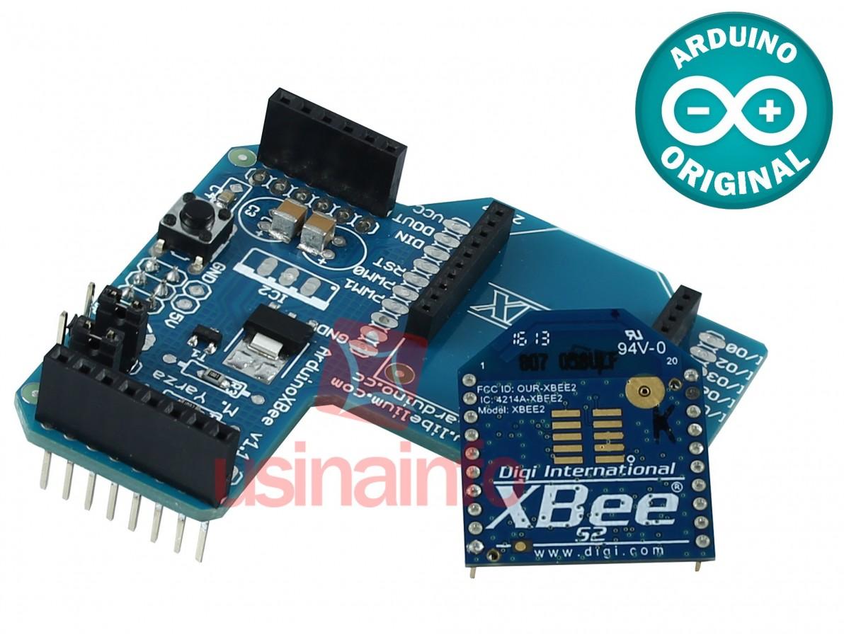 XBee Shield para Arduino + XBee Série 2