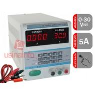 Fonte de alimentação chaveada digital regulável / programável 30V 5A - DPS 305BM - 220V