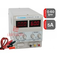 Fonte de Alimentação Digital Regulável 60V 5A - PS 605D Bivolt 110/220V
