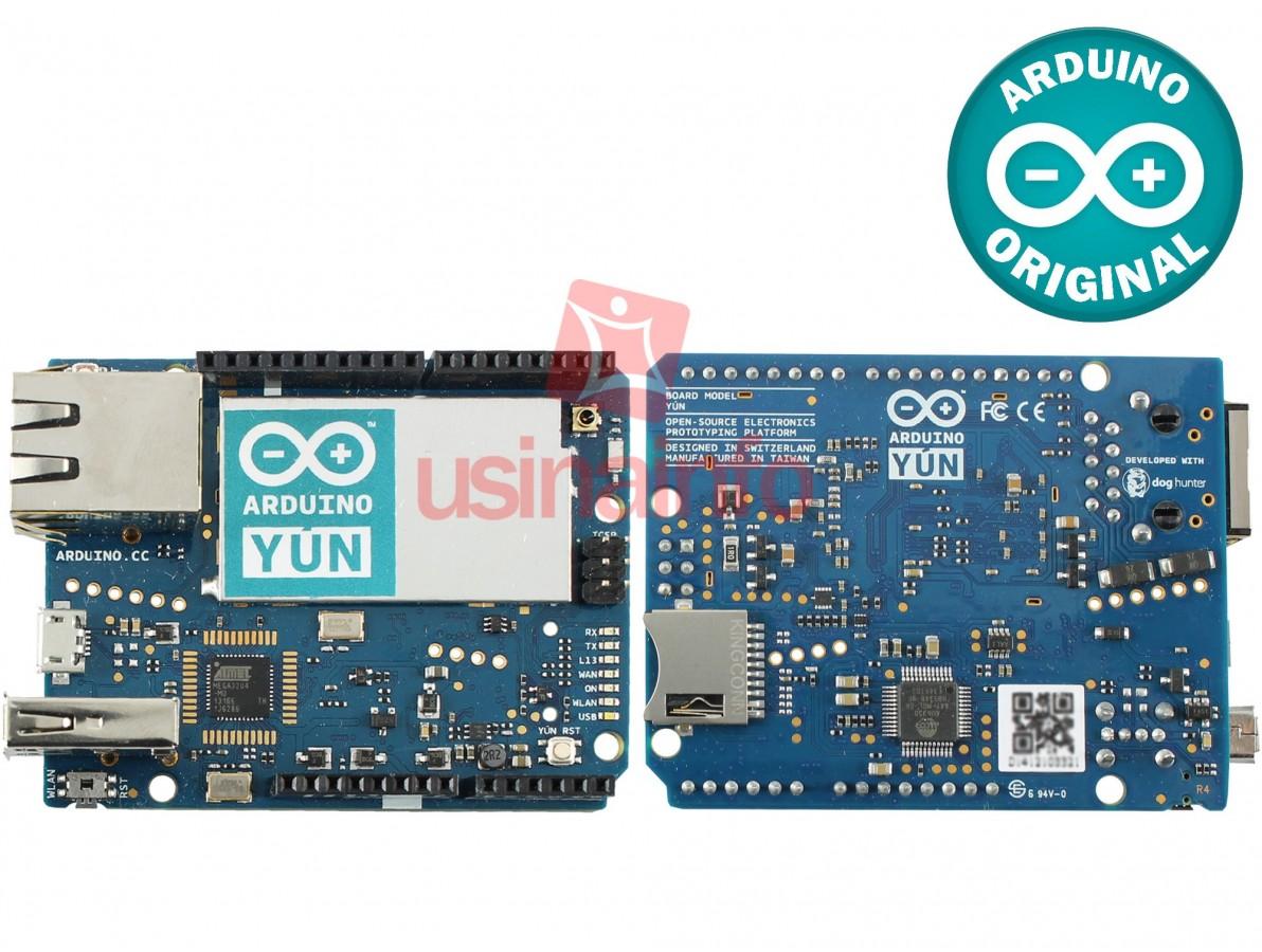 Arduino YÚN + Base Acrílica Oficial - ORIGINAL ITÁLIA