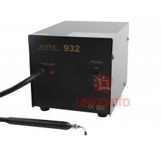 Estação para extração de componentes com pinça à vácuo - Aoyue 932