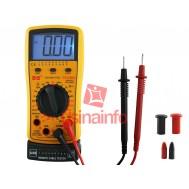 Multímetro digital com testador de cabo RJ11, RJ12, RJ45 e USB - DT4300A
