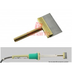 Ponta para Ferro de Solda Tipo Espátula para Remoção de Cola UV - Ferro 60W