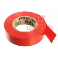 Fita Isolante 3M Temflex 1500 20m - Vermelha