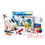 Projeto de Casa com Energia Solar e Eólica - Power House