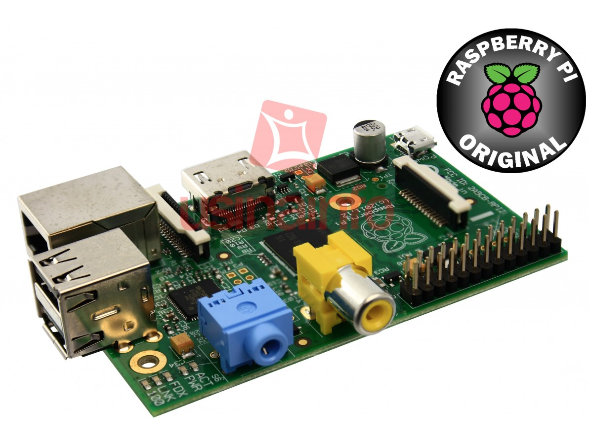 Raspberry Pi B 512MB - Original (DESCONTINUADO)
