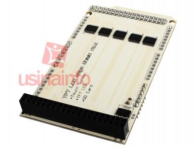 TFT LCD Mega Shield para Arduino Mega