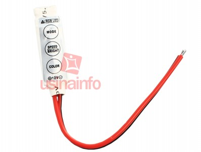Mini Controlador RGB / Controlador de Iluminação LED