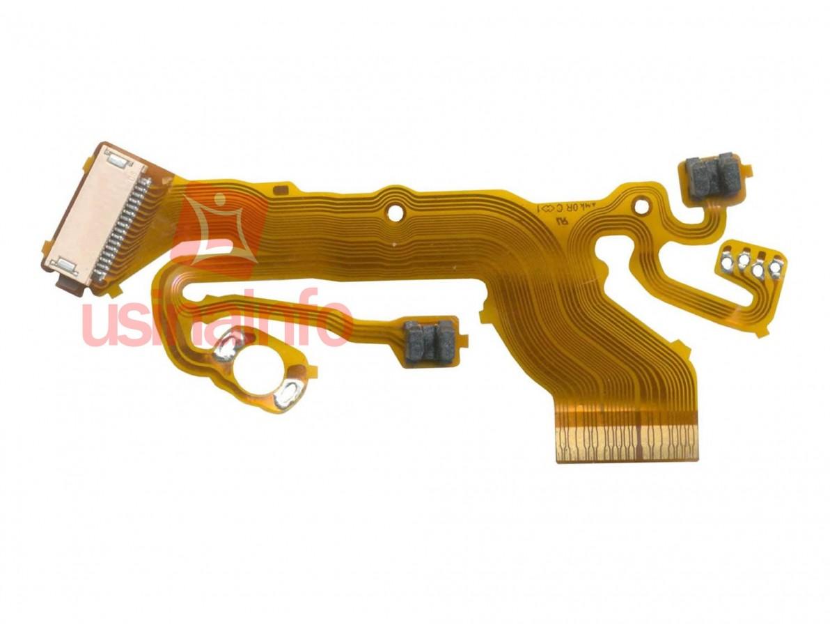 Flat Flex Cable com sensores Sony DSC-W350, DSC-W360, DSC-W560 (Semi-novo)