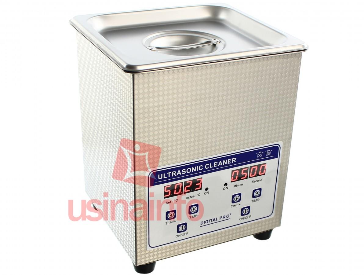 Cuba Ultrassônica Digital 2Lts para limpeza e desoxidação com função aquecimento - JP-010S