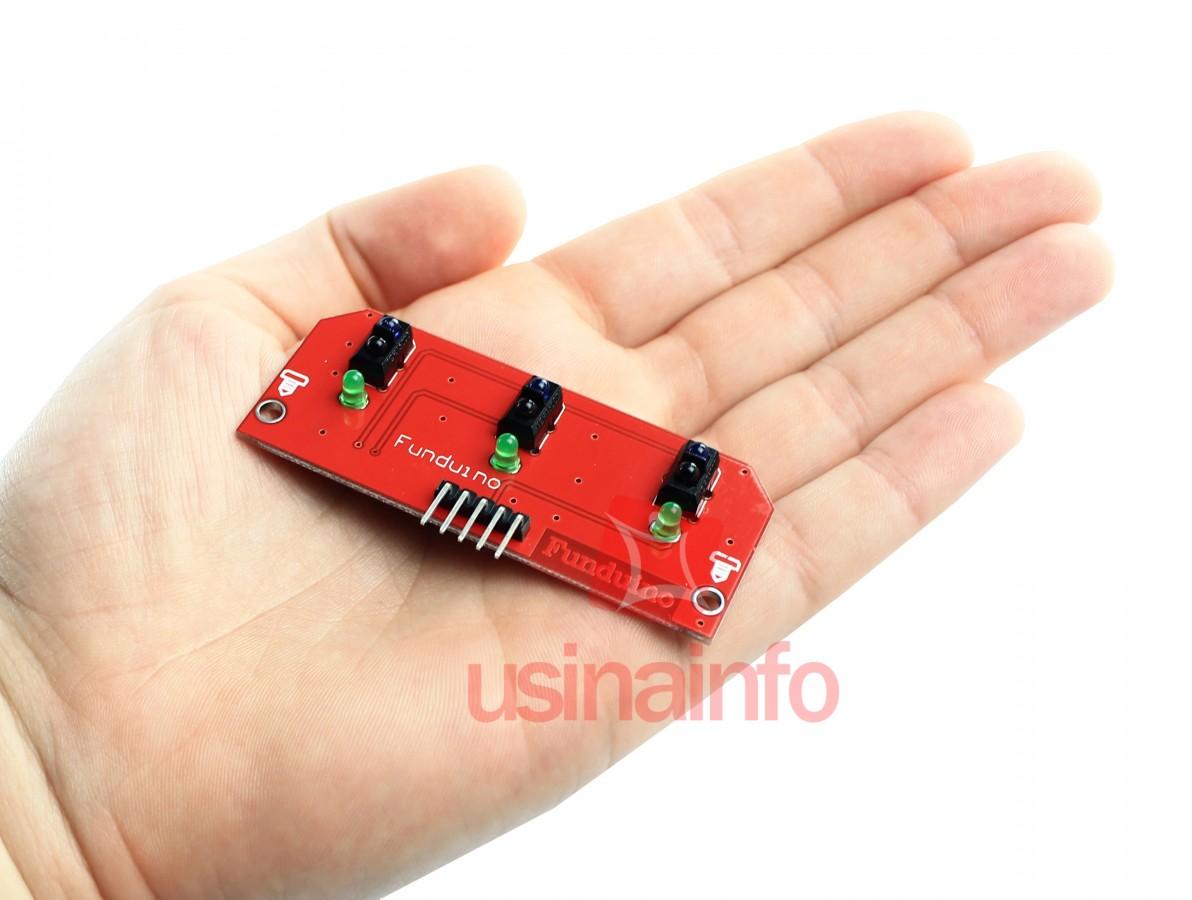 Sensor de Linha Infravermelho 3 Sondas