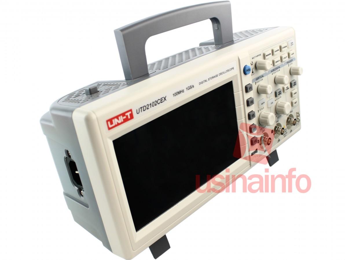 Osciloscópio Digital 100MHz  2 canais - UTD2102CEX (Bivolt)