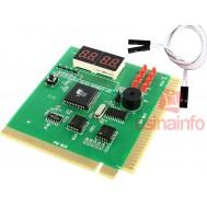 Testador de Placa-Mãe / PC Analyzer com Display de 4 dígitos