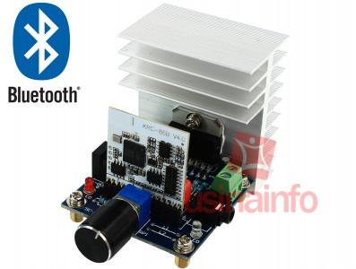 Placa Amplificador de Som Estéreo 2 canais 38W + 38W com Recepção Bluetooth - (DESCONTINUADO)