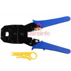 Alicate de Crimpar Rede RJ11 / RJ12 / RJ45 HYX - ALC01