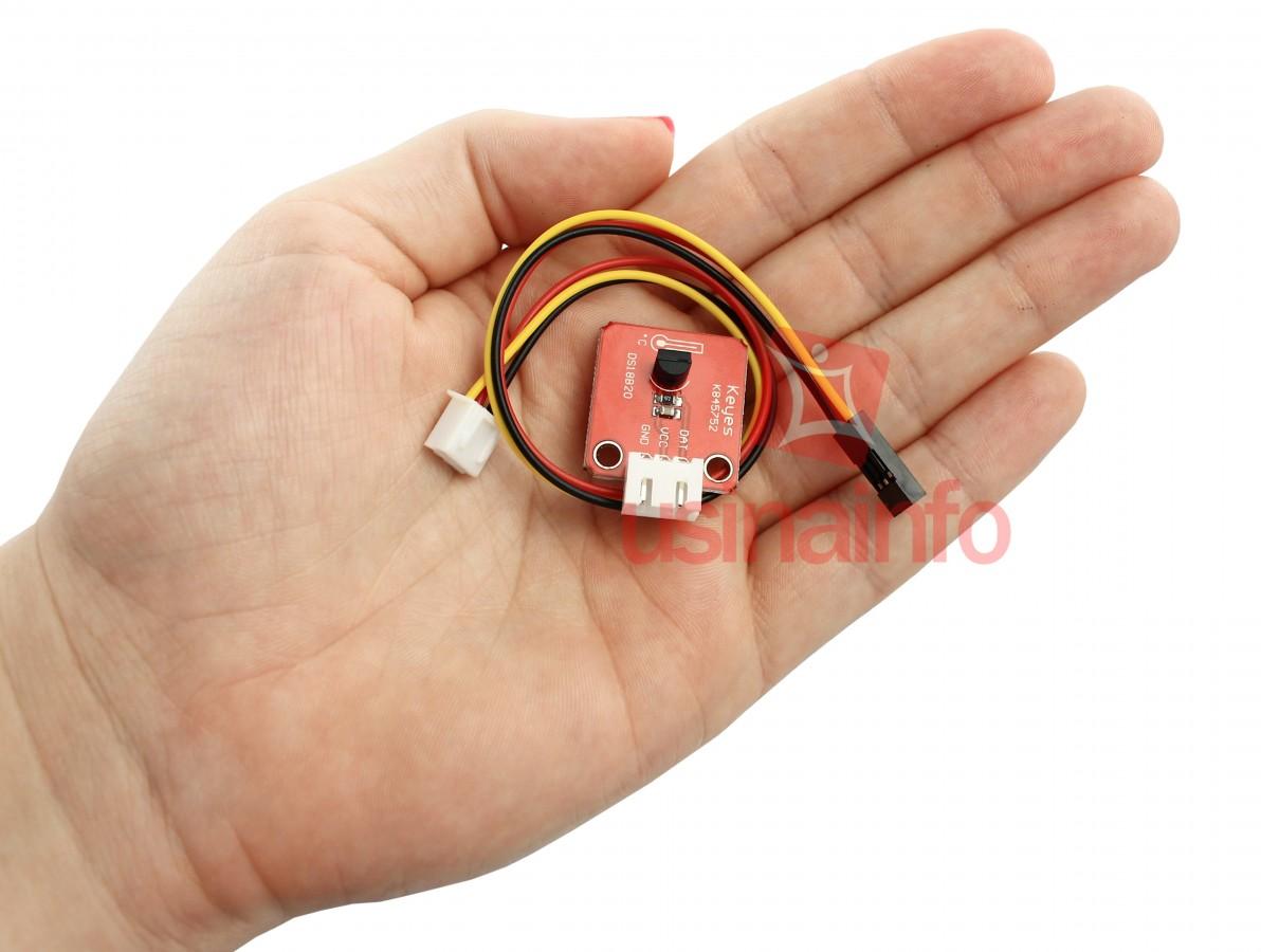 DS18B20 - Módulo Sensor de Temperatura Digital para Arduino