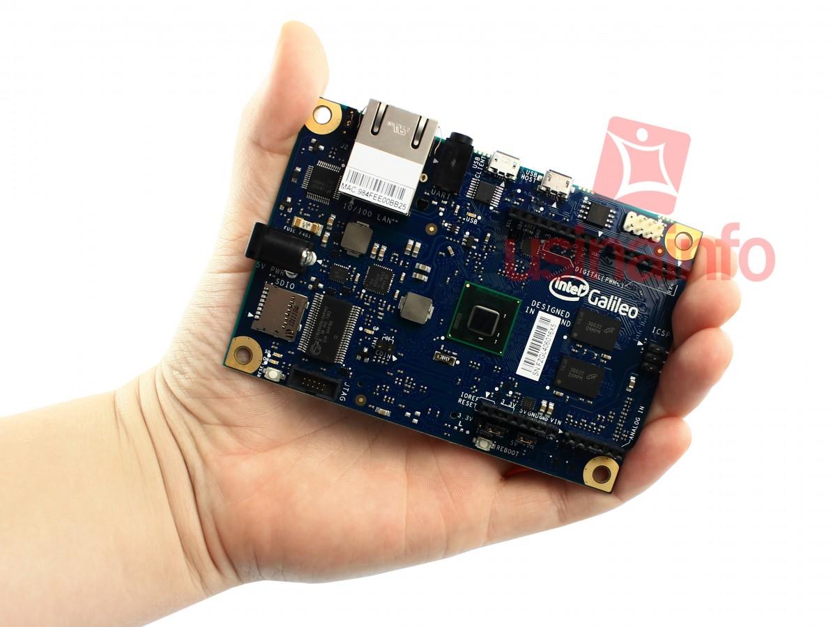Intel Galileo Original + Fonte de Alimentação