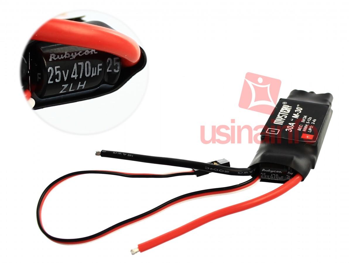 Controlador para motor Brushless - ESC 30A - Ideal para Drones