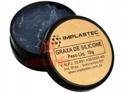 Graxa de Silicone Implastec 10g