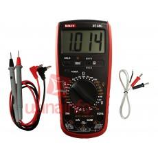 Multímetro com Capacímetro Digital / 32 Escalas e Sensor Termopar - Best BT58B