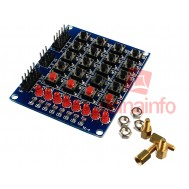 Módulo Teclado Matricial 4x4 + push button + 8 LEDs