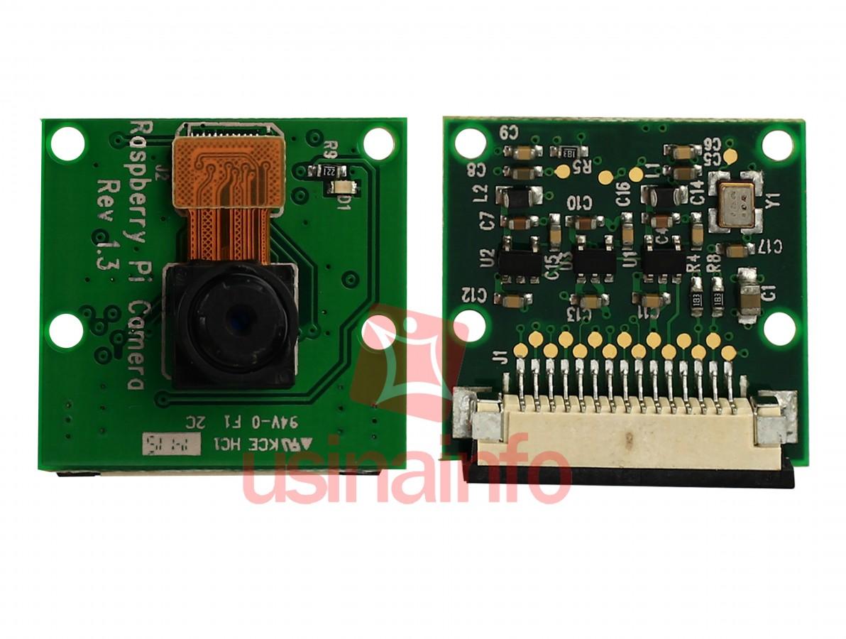 Câmera para Raspberry Pi 3, Pi 2, B+, B, A+ 5MP Conexão CSI