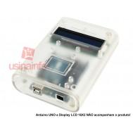Case para Arduino Mega ou Arduino UNO / Display 16x2 - ABS