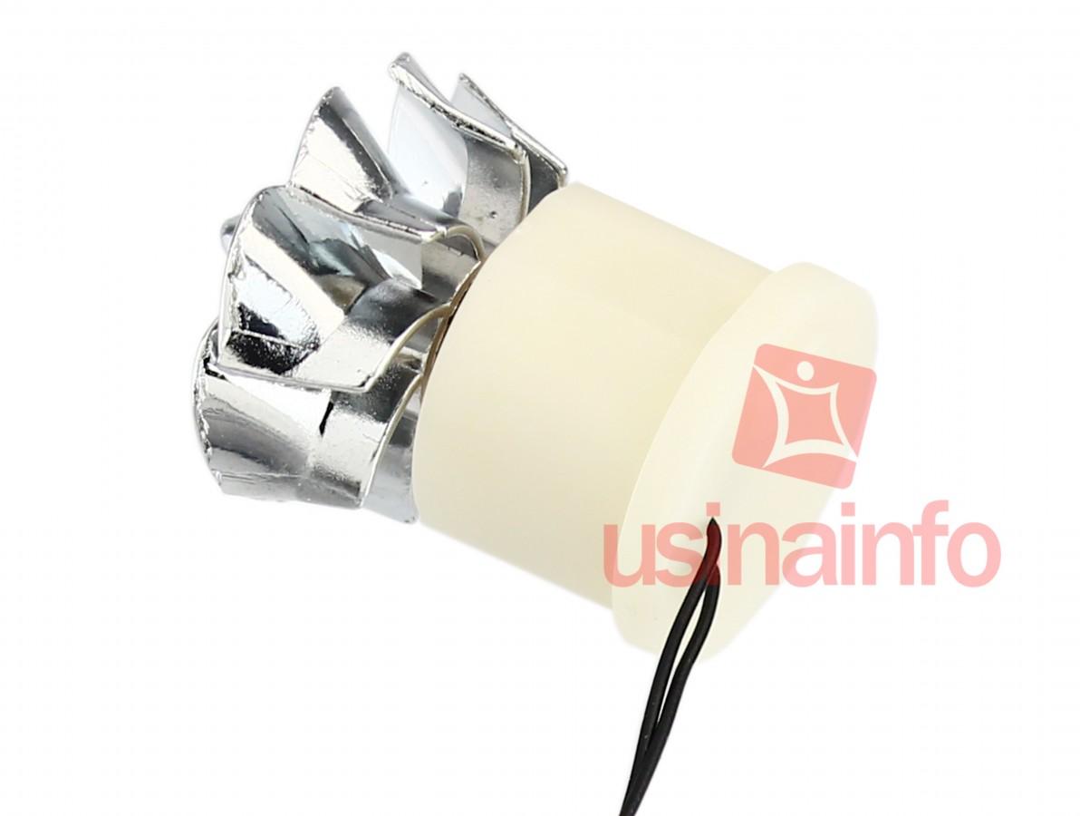 Mini Gerador de Energia Eólico + LED para Projetos