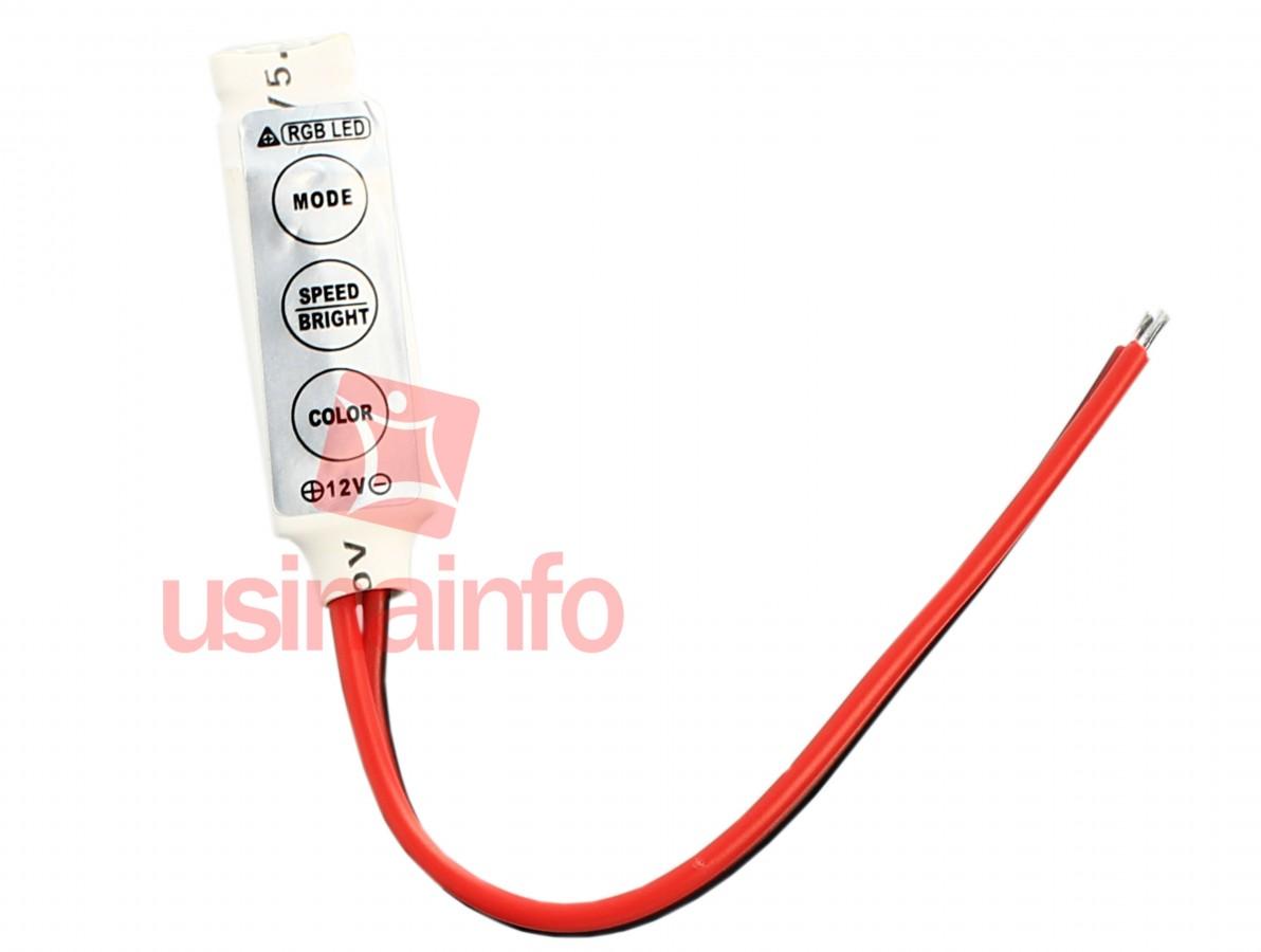Fita de LED 3 cores + Controlador - 300 LEDS - Rolo com 5 metros