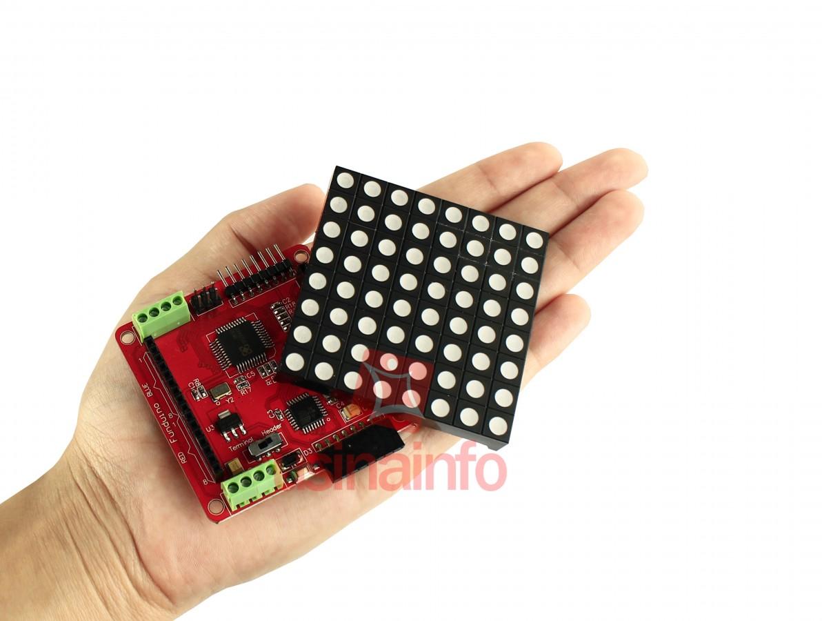 Colorduino / Controlador + Matriz de LED RGB 8x8