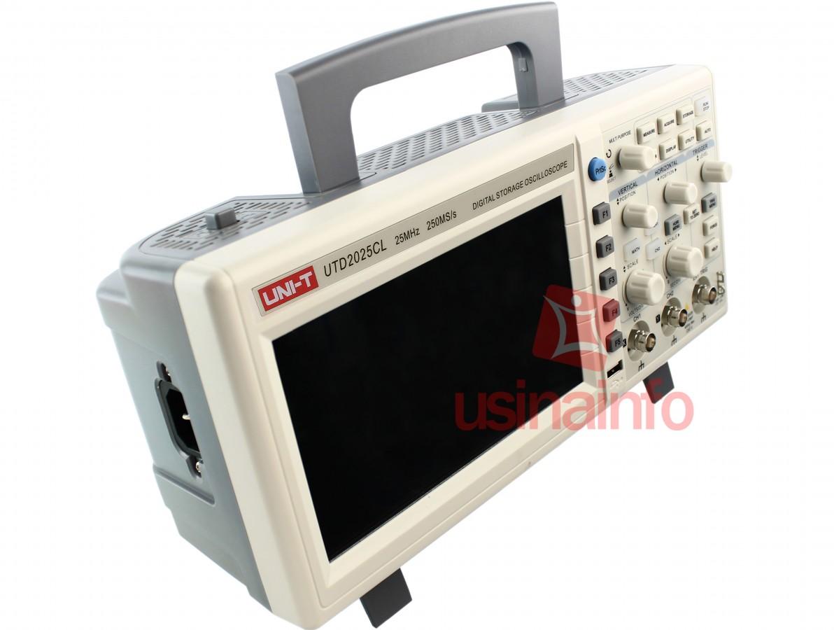 Osciloscópio Digital 25MHz 2 canais - UTD2025CL (Bivolt)
