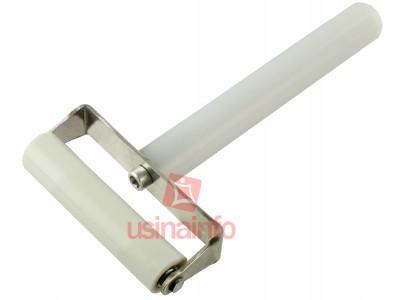Rolo de Silicone com cabo para aplicação de películas - Modelo A (6,9cm)
