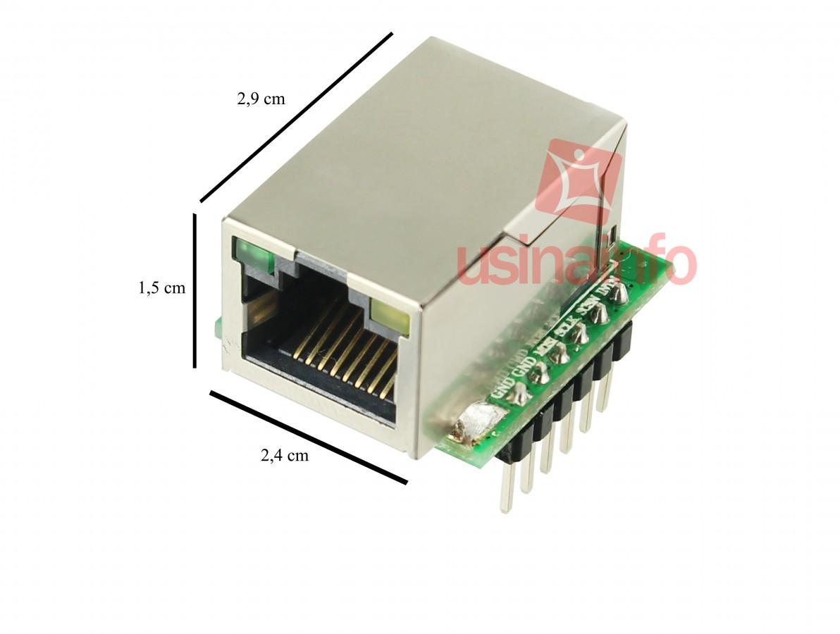 Módulo Ethernet W5500 Nano