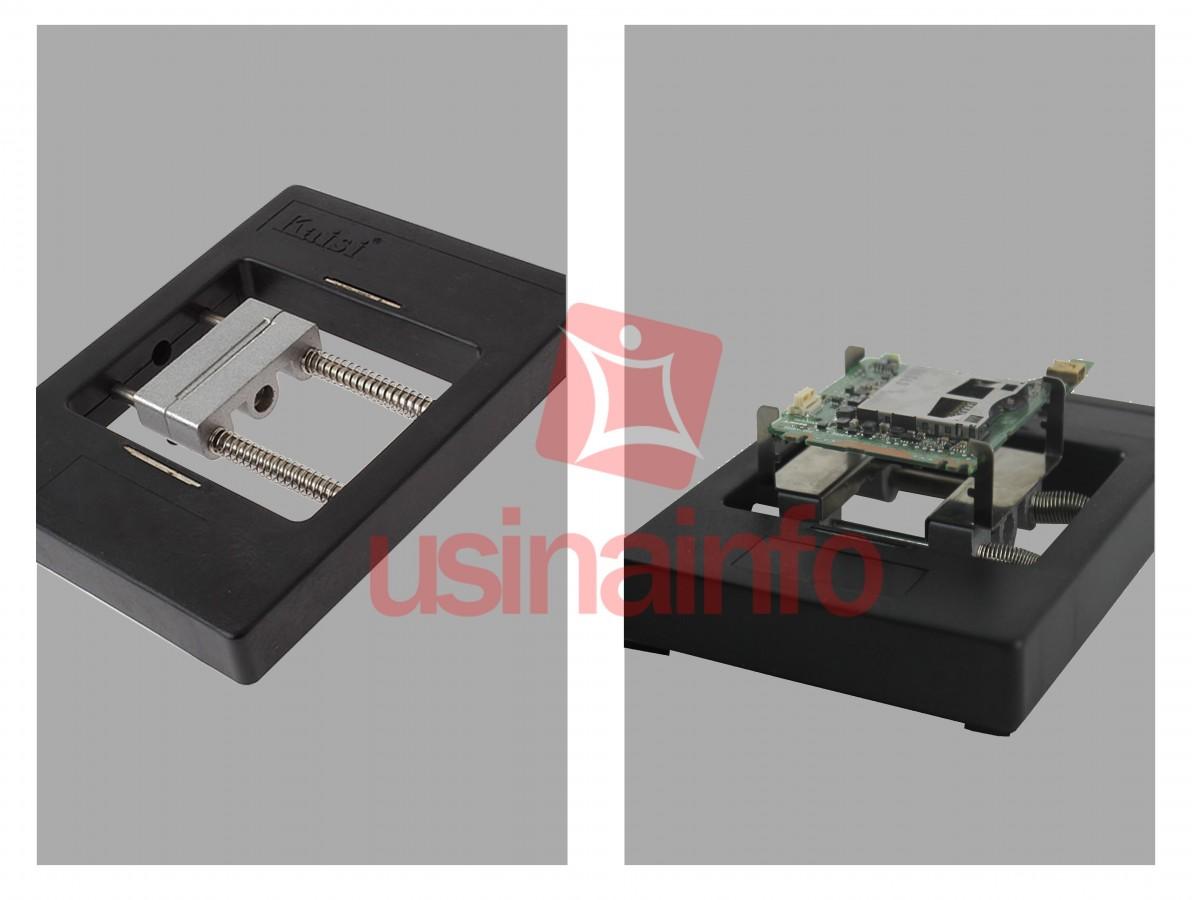 Base com Ferramentas para trabalho em placas e chip's - KS1200