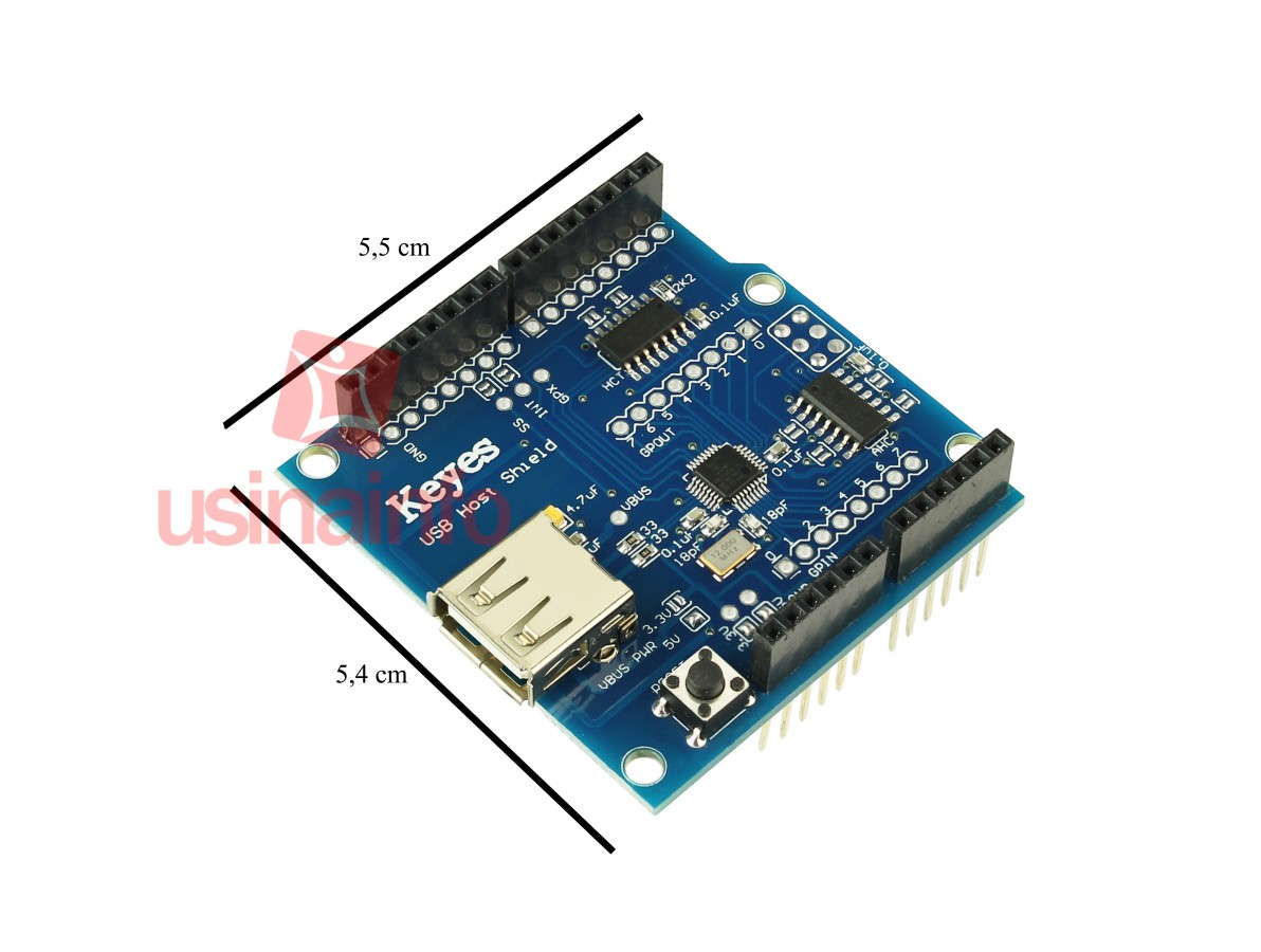 USB Host Shield ADK para Arduino