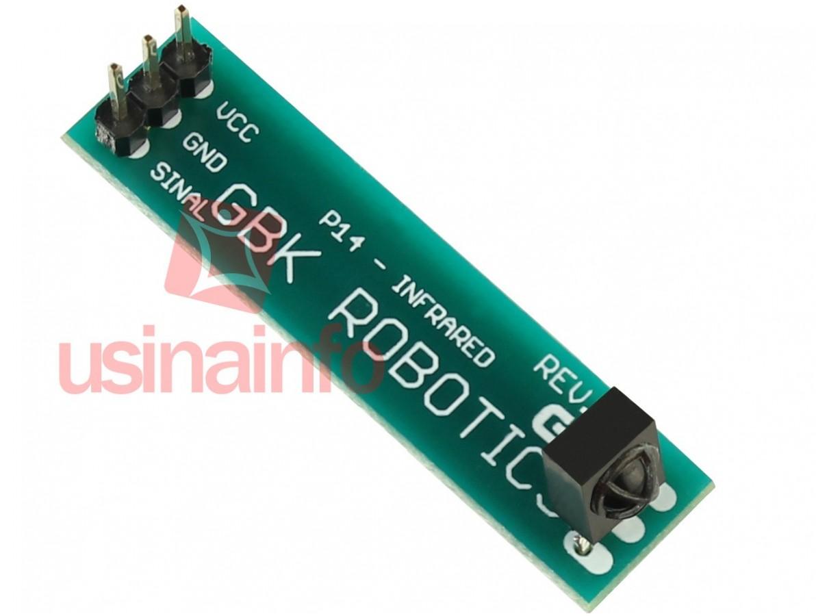 Kit Controle Remoto Infravermelho + Receptor - P14 (DESCONTINUADO)