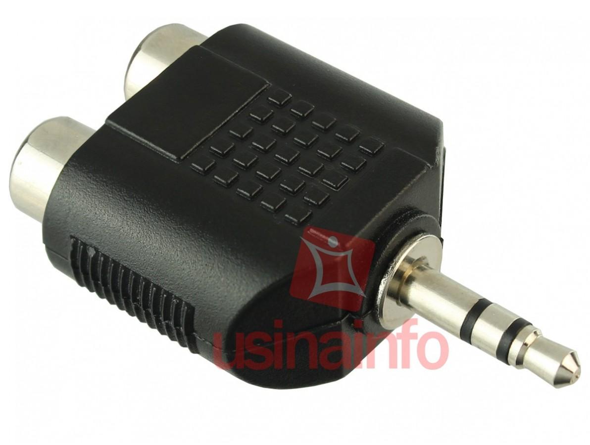 Adaptador P2 para 2 RCA Fêmea - CC310 HYX
