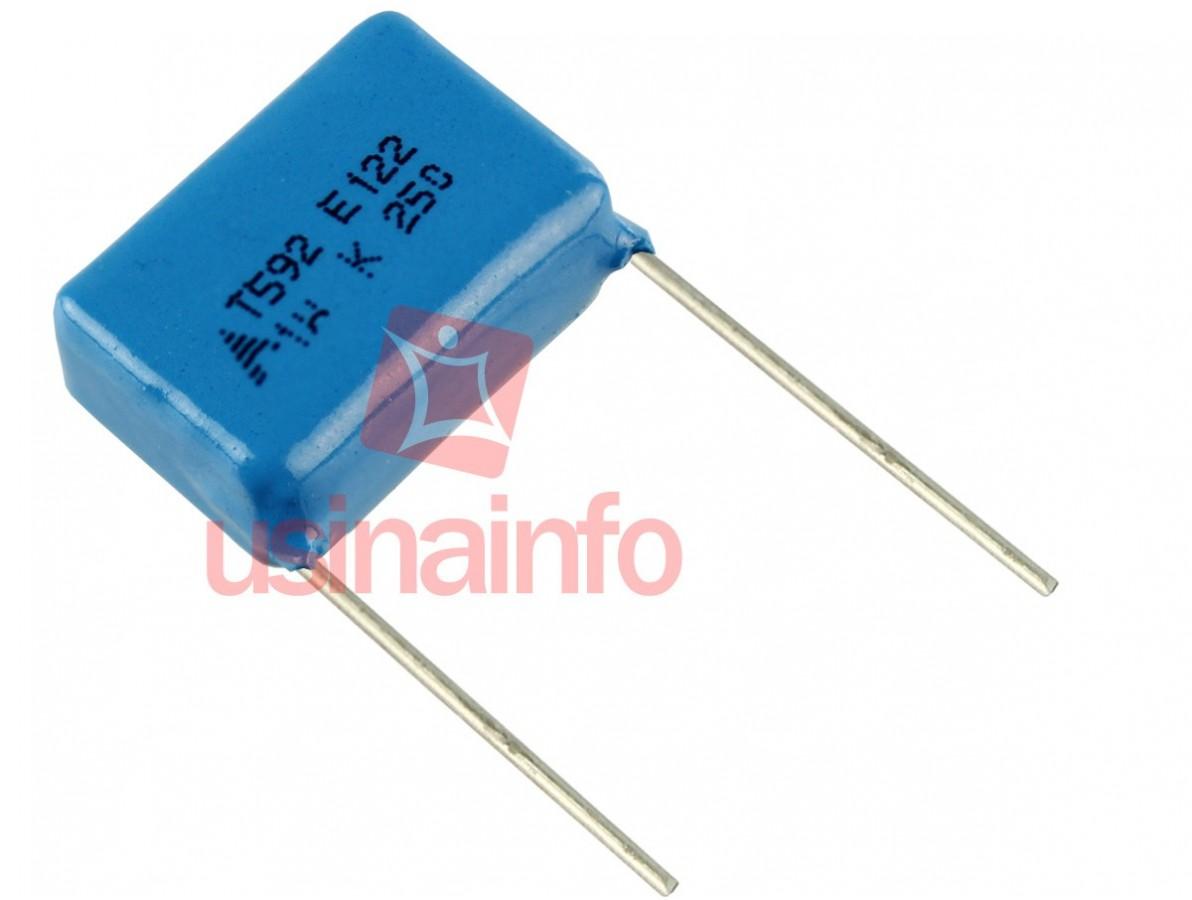 Capacitor de Poliester 1u 250V - EPCOS