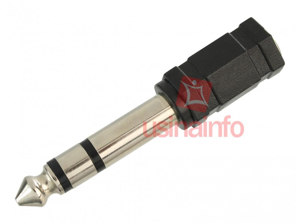 Conector P2 P10 / Plug P2 P10 Estéreo